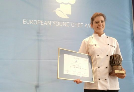 Aisling Rock announced winner of the European Young Chef Award 2017
