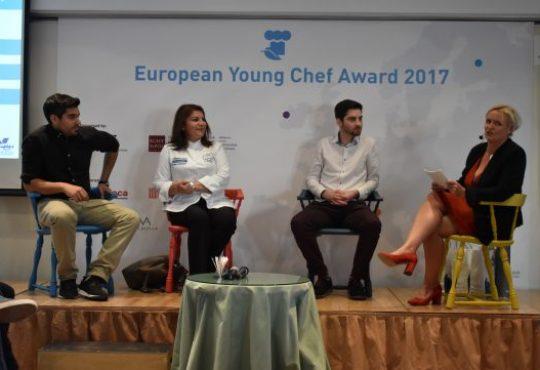 Round Table with celebrity chef Argiro Barbarigou