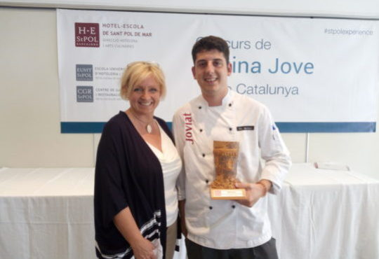 Catalonia's finalist selected for the European Young Chef Award 2018