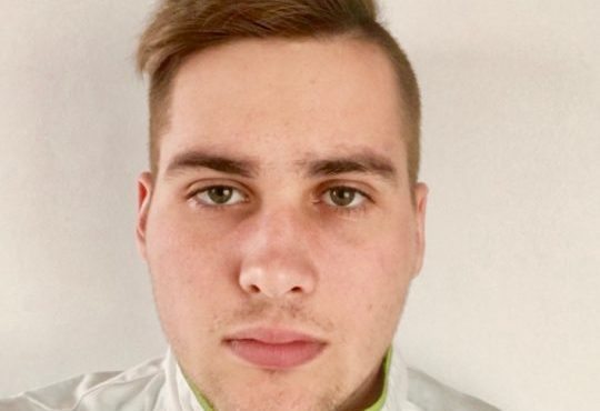 Slovenia's finalist to the European Young Chef Award 2018
