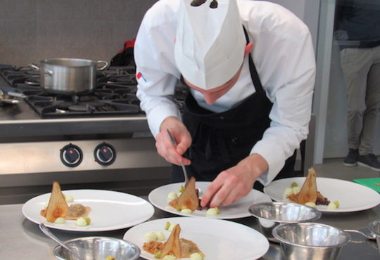 Local stories inspire Slovenia's finalist to the European Young Chef Award 2019