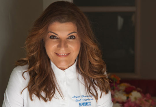 Argiro Barbarigou to chair the jury of the European Young Chef Award 2019