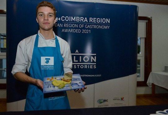 Bernardo Calvo, proud to represent Coimbra Region's gastronomy