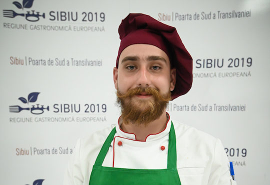 Paul Răhăian to represent Sibiu at the European Young Chef Award 2019