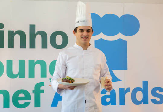 Rui Meira to represent Minho at the European Young Chef Award 2019